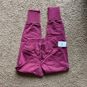Free People Joggers On the Road Pant Pink